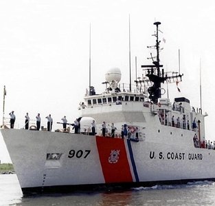 Cayman Islands News, Grand Cayman Headline News, Coast Guard Cutter Bear, Cayman crime