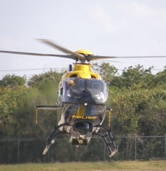 Cayman Islands News, Grand Cayman headline news, Royal Cayman Islands Police Service, police helicopter