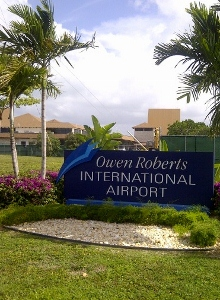 Cayman Islands, Owen Roberts Airport, Grand Cayman Islands
